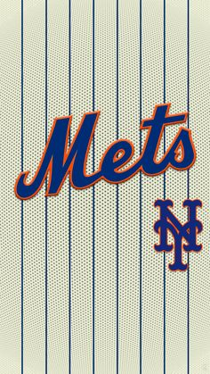 Baseball Wallpaper, Mlb Wallpaper, Iphone Wallpaper, Mlb Team Logos, Mlb Teams, Ny Mets, New York Mets, Baseball Art, Baseball Players