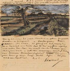 La corrispondenza tra Vincent van Gogh ed il fratello minore, il mercante d'arte Theo van Gogh, rappresenta il testamento del pensiero di Van Gogh verso la vita, l'arte e la pittura. I fratelli si scambiarono tra il 1872-1890 centinaia di lettere: più di 600 da Vincent a Theo e 40 da Theo a Vincent.