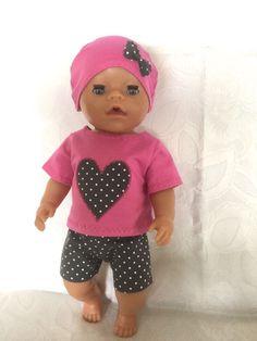 Puppen & Zubehör Puppenkleidung 43 cm für Baby Born Puppe Babypuppen & Zubehör