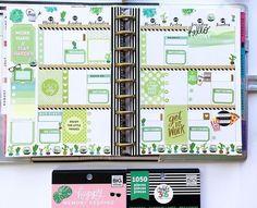 Happy planner Mini Happy Planner, Cute Planner, Planner Layout, Goals Planner, Blog Planner, Printable Planner, Planner Stickers, Printables, Digital Bullet Journal
