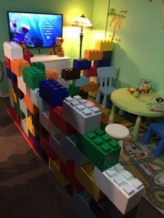 #pared #ambientes #habitaciones #bloques #decoración #diseño #niños