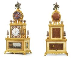 A SUPERB IMPERIAL CHINESE ORMOLU AND PASTE-SET STRIKING, MUSICAL AND AUTOMATON 'TRIBUTE BEARERS' CLOCKhttp://www.christies.com/