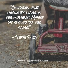 Children teach us how to live peacefully. Here's how:  -Chris #blog #article #peace #empowerment #self-help