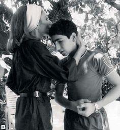 Farah Diba Pahlavi, Empress of Iran and son Ali Reza...............http://www.pinterest.com/pin/569916527818022233/