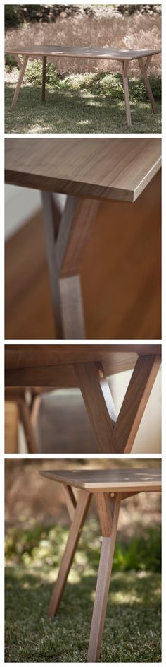 The Two-Weekend Table #woodworking #furniture