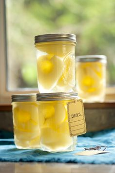 Classic Canned Pears #springforpears and #usapears