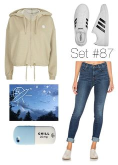 """""""No Name"""" by emma-natalie ❤ liked on Polyvore featuring adidas Originals, J Brand, adidas and Valfré"""
