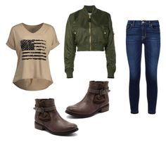 """""""Mila's casual wear"""" by pantsulord on Polyvore featuring Alpha Industries and Hudson"""