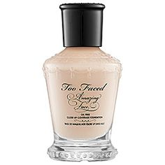Too Faced - Amazing Face Oil Free Close-Up Coverage Foundation  #sephora One of my new favorite foundations!!