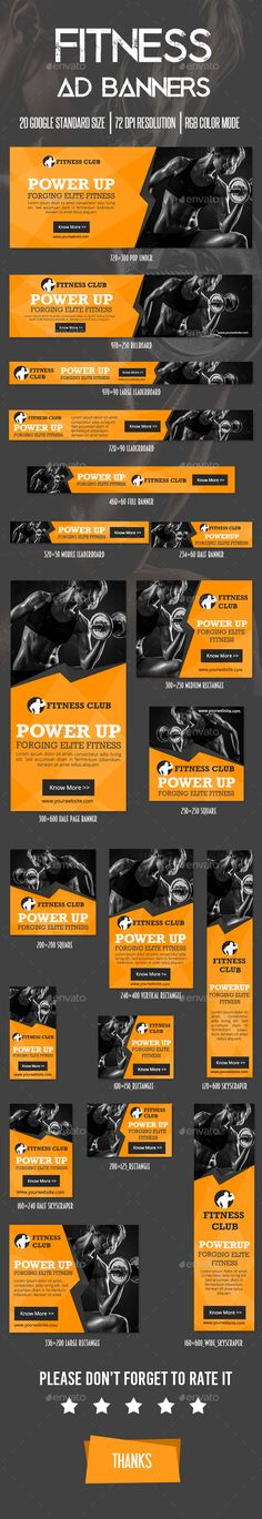 Fitness Ad Banner