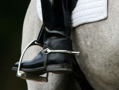 How Do I Keep My Toes From Turning Out When Riding Dressage? Postural alignment specialist Anna Bergenstrahle offers exercies to help keep you properly aligned in the saddle.