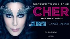 Cher : Dressed to Kill Tour 2014 begins Fri, 27 Jun 2014 in #Vancouver at Roger's Arena Music, Entertainment