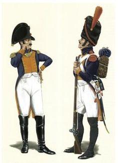 Regimiento de Granaderos de la Guardia de Jose Bonaparte. España