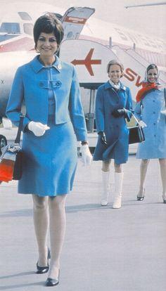 Swissair Elegance, early 1970's www.facebook.com/VintageAirliners ✈