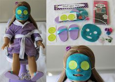 American Girl Spa Birthday Party Package for 8 Girls and Their Dolls on Etsy, $250.00