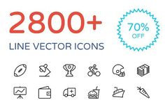 2800 Line Vector Icons Bundle Graphics **Save 70 and buy the big bundle of line vector icons now!**Here is a collection of some perfectl by Creative Stall Business Brochure, Business Card Logo, Real Estate Icons, Texture Web, Communication Icon, Science Icons, Ios Icon, Mobile Icon, Education Icon