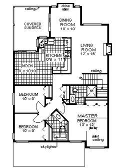 House Plan chp-2800 at COOLhouseplans.com