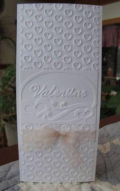 Embossed Valentine by Susie B - Cards and Paper Crafts at Splitcoaststampers
