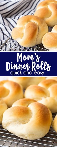 Dinner Rolls are the