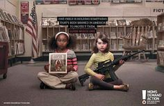Two Children Nail Powerful Message In New Gun Control Ad - Great-Ads