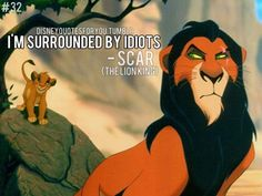 Scar from The Lion King quote