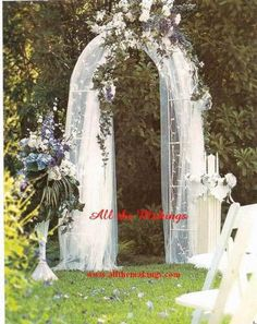 Idea to decorate the arch ideas pinterest arch indoor wedding wedding arch with 200 lights junglespirit Image collections