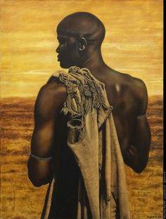 Sacha Baraz painting