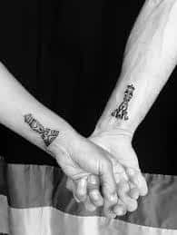 Couples tattoo, tribal chess pieces, king and queen tattoos, bjj couple chess king Tribal Tattoos, Trendy Tattoos, Unique Tattoos, Beautiful Tattoos, New Tattoos, Tatoos, Couple Tattoo Quotes, Couple Tattoos Love, Chess Piece Tattoo