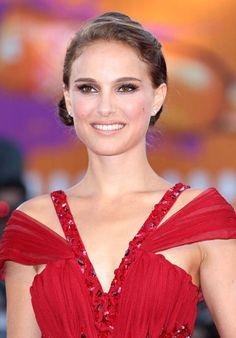 Natalie lovely in red
