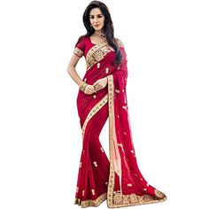 Beautiful Partywear Traditional Indian Designer Saree * You can get additional details at the image link.