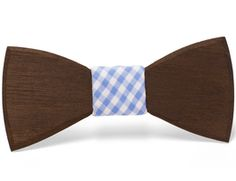 """""""Cleveland"""" - Unique handcrafted wooden bow ties made by Two Guys Bow Ties."""