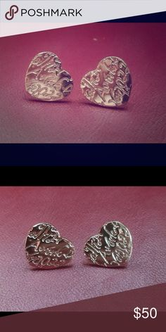 Brand New T&Co heart shaped stud earrings! I moving! And cleaning out everything, just found these Tiffany & Co earrings, I forgot I even had! Brand new never worn! Tiffany & Co. Jewelry Earrings