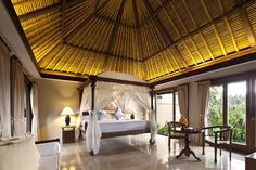 View deals for Kamandalu Ubud. Near Ubud Monkey Forest. WiFi, parking, and an evening social are free at this resort. Ubud Villas, Bali Decor, Gazebo, Pergola, Resort Villa, Spa Treatments, Balinese, Cool Rooms, Natural Wonders