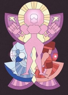 fusion, garnet, love, ruby, sapphire, steven universe