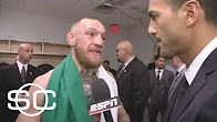 Conor McGregor's post-fight interview after losing to Floyd Mayweather | SportsCenter | ESPN - Duration: 2 minutes 8 seconds.