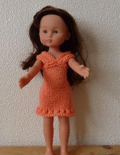 tuto robe chérie corolle barbie nancy