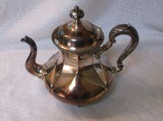 Antique Meriden B. (britannia) Teapot by VelsVintage on Etsy, $42.00