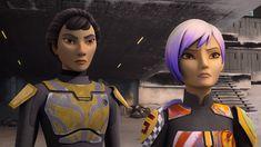 STAR WARS REBELS Producer Talks Sabine's Arc, Mandalore, and More   Nerdist