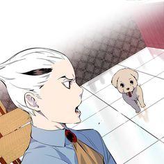 Noblesse - Rai's Puppy and Regis Cadis Etrama Di Raizel, Winter Moon, Fantasy Heroes, Anime Recommendations, Webtoon Comics, Noblesse, Anime Shows, Anime Style, Anime Characters