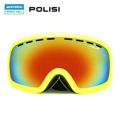 POLISI Winter Skiing Glasses Men Women  UV400 Protective Motocross Goggles Snowmobile Snow Snowboarding Eyewear