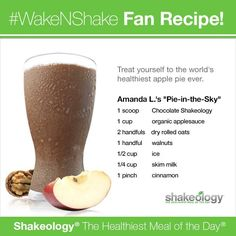 This Shakeology recipe looks AMAZING! Love, love, love my Chocolate Vegan Shakeology! You just cannot beat getting such dense nutrition in such a yummy form! Shakeology Shakes, Vegan Shakeology, Beachbody Shakeology, Chocolate Shakeology, Strawberry Shakeology Recipes, Vanilla Shakeology, Healthy Meal Replacement Shakes, Healthy Shakes, Protein Shake Recipes