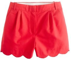 j crew scalloped short, must have these, it so hard to find cute shorts that have some length to them!