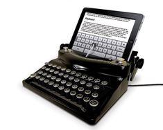 typewriter for ipad. Cool...