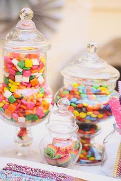 Rainbow Themed My Little Pony Party with Such Cute Ideas via Kara's Party Ideas   KarasPartyIdeas.com #RainbowParty #MyLittlePonyParty #Part...