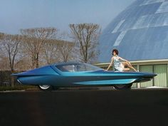1969 Buick Century Cruiser was built off the chassis of the 1964 Firebird IV concept car.