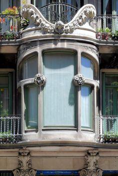 Cases Leandre  Bou .  Architect: Antoni Millàs i Figuerola. Barcelona - Pau Clarís  (por Arnim Schulz em Flickr)