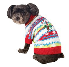 Rubies Costume Ugly Sweater with Candy Cane >>> Quickly view this special cat product, click the image : Cat sweater