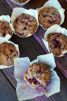 Brazil Maca Berry Muffins2