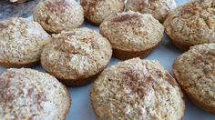 Dishes by Donna: Healthy Oat Bran Muffins(flourless)