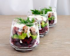 Growing up Czech, pickled herring was a big part of our diet. My mother even used to eat it right out of the jar. My Herring Salad in Cream Sauce is an excellent little dish that's perfect for all seasons.